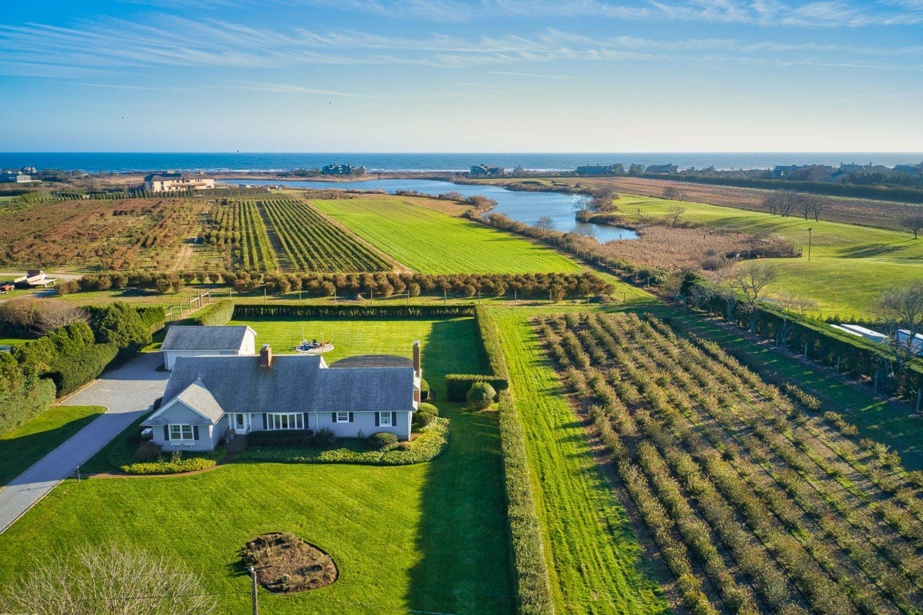 Land for Active at Ocean, Pond, and Farm Views 508 And 522 Wickapogue Road Southampton, New York 11968 United States