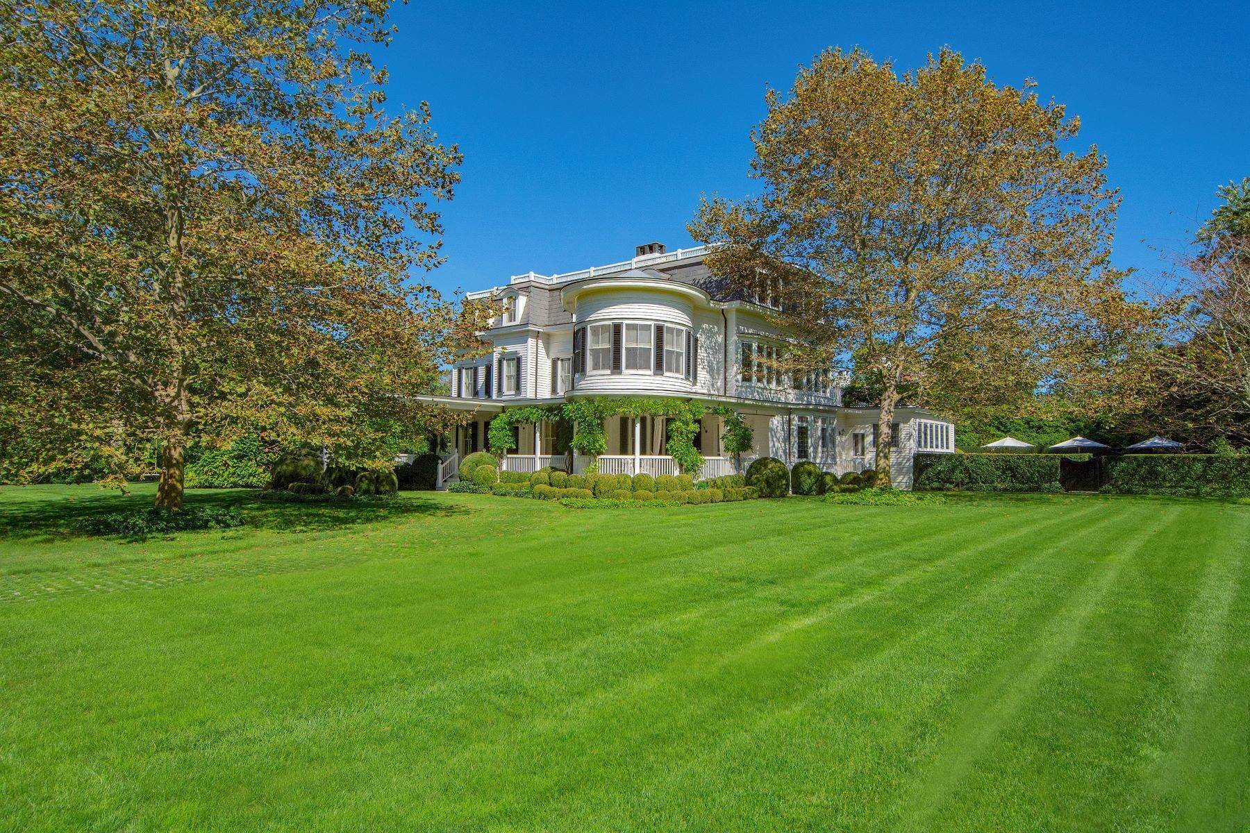Single Family Homes for Active at Historic Southampton Village With Pool 172 South Main Street Southampton, New York 11968 United States