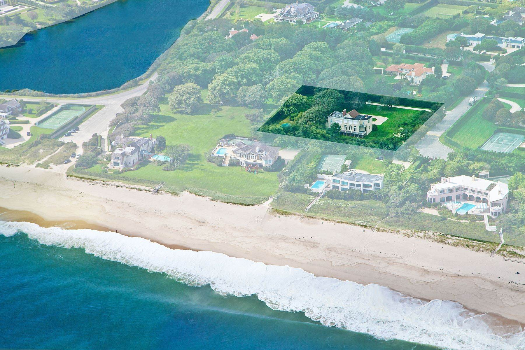 Single Family Homes for Active at Prime Oceanside Location Southampton 90 Murray Lane Southampton, New York 11968 United States
