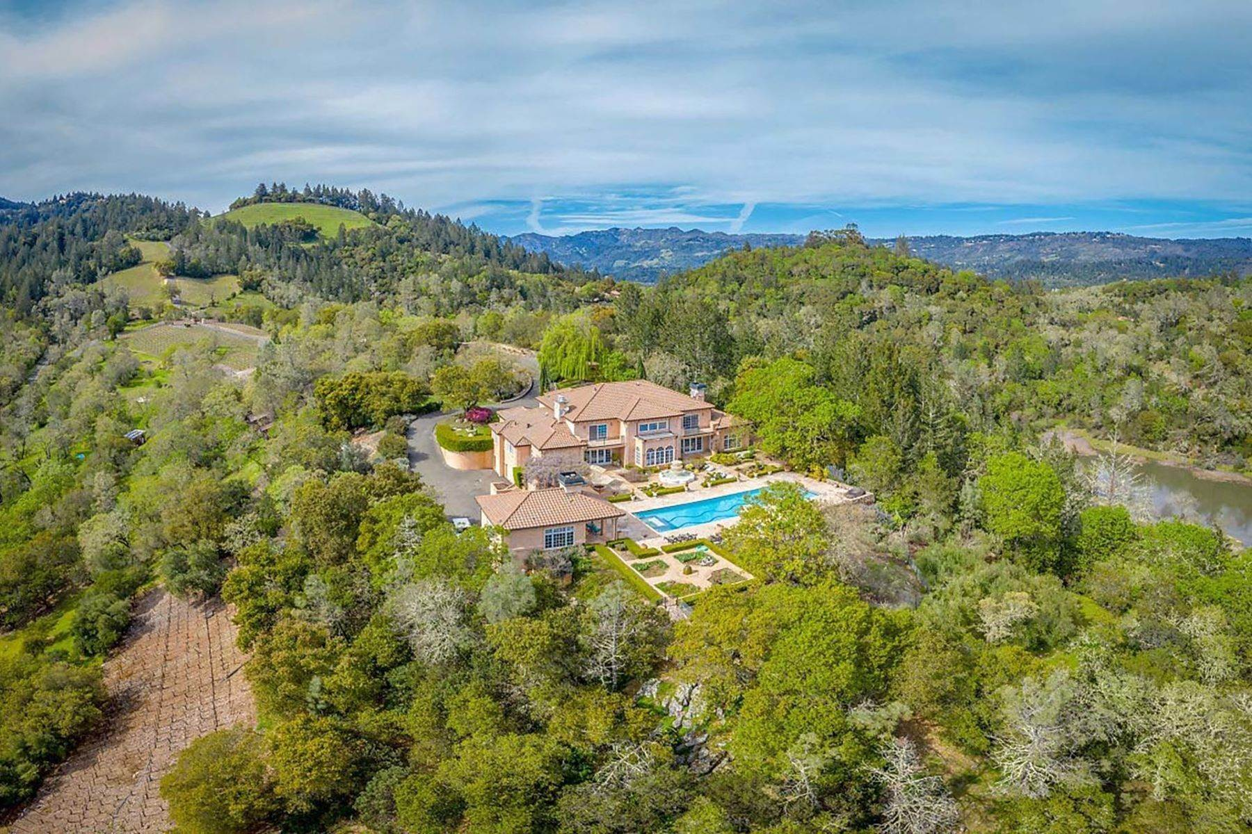 Single Family Homes for Active at 2900 Spring Mountain Road St. Helena, California 94574 United States