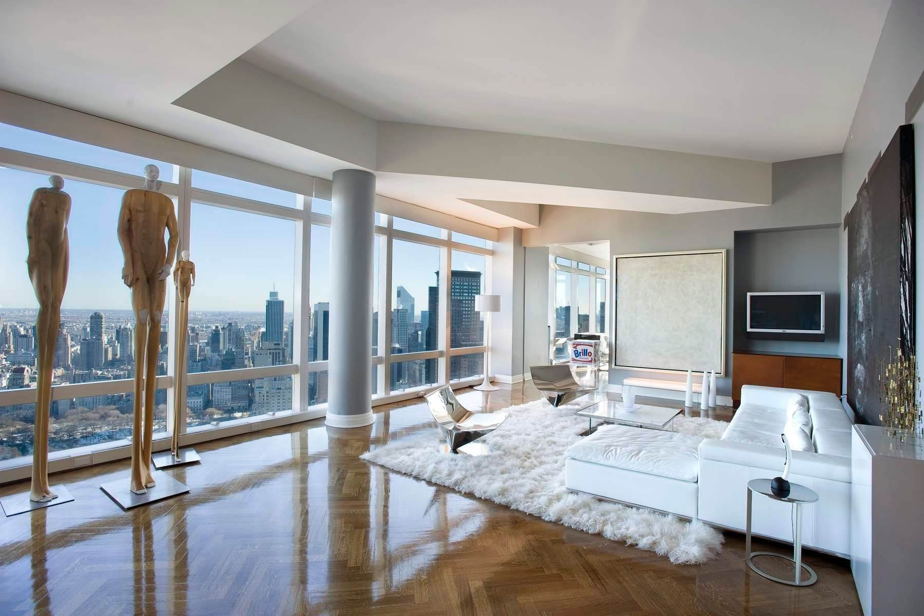 Condominiums for Active at 25 Columbus Circle, 75CE New York, New York 10019 United States