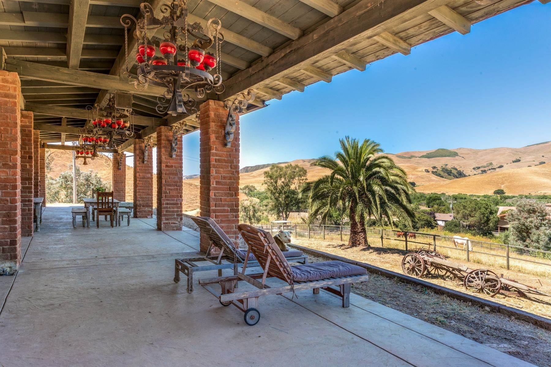 Vineyard Real Estate for Active at One of a Kind Legacy Horse Ranch 4115 Jalama Road Lompoc, California 93436 United States