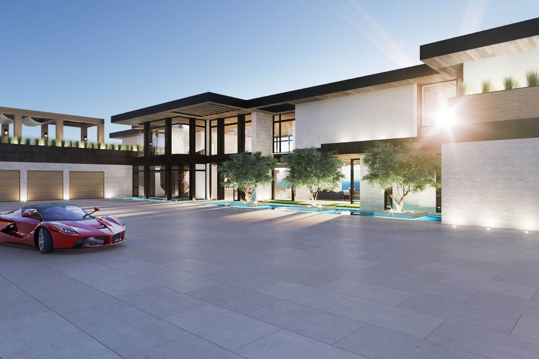 Single Family Homes for Active at New Construction 3093 Sweetwater Mesa Rd. Malibu, California 90265 United States
