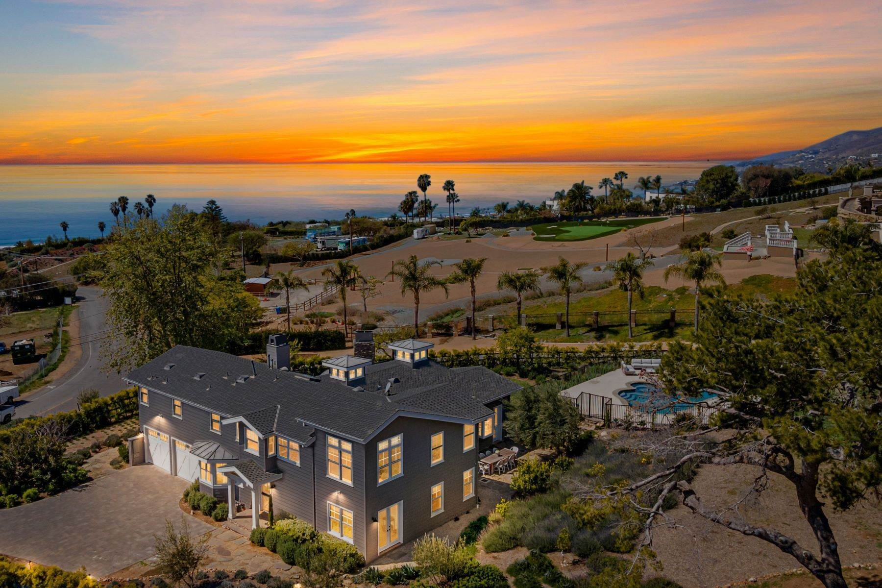 Single Family Homes for Active at Traditional With Ocean Views 5825 Philip Avenue Malibu, California 90265 United States