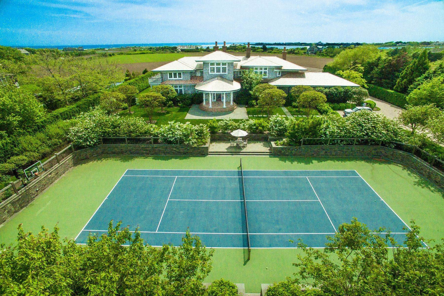 Single Family Homes for Active at Sagg Ocean Views on 23 Acre Reserve 19 Sagg Pond Court Sagaponack, New York 11962 United States